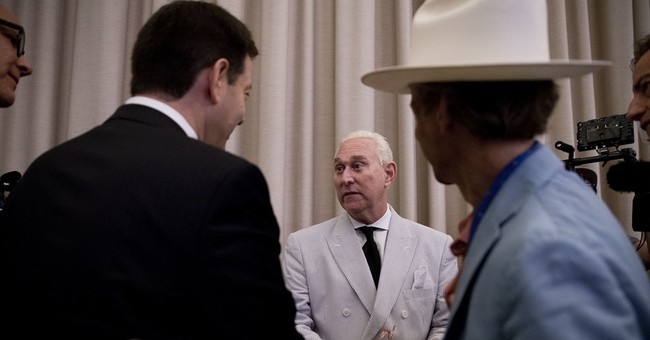 Roger Stone Crawls Out From Under A Rock To Damn John McCain