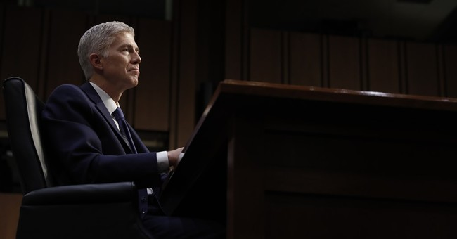Gorsuch Gives Opening Remarks at First SCOTUS Confirmation Hearing