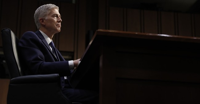 photo image Gorsuch Gives Opening Remarks at First SCOTUS Confirmation Hearing