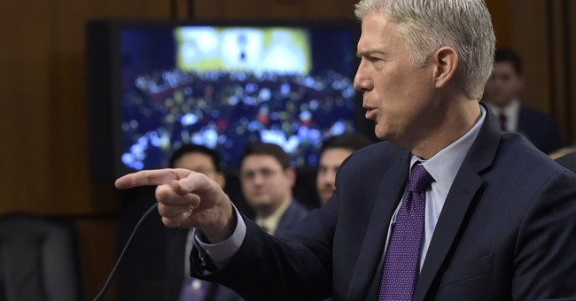Gorsuch Responds to Congressman Who Supposedly Said He Wants Him Confirmed to Uphold 'Muslim Ban'