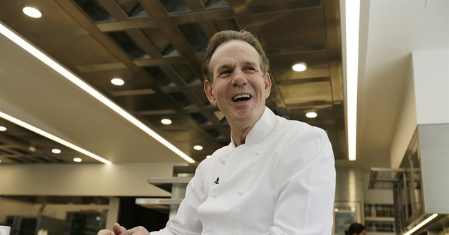 Chef Thomas Keller in happier times before the economic collapse