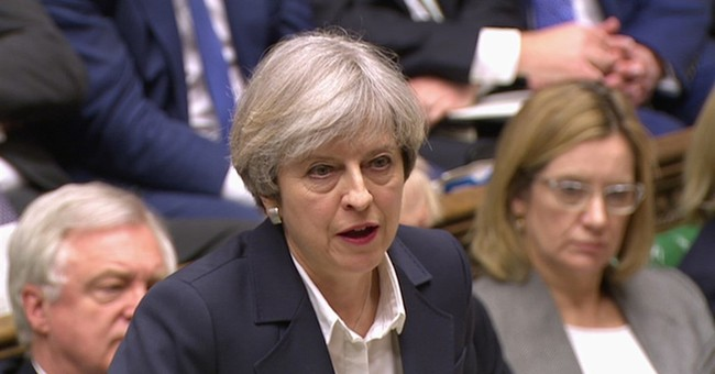 """Theresa May: It's """"Ridiculous"""" to Remove 'Easter' From Egg Hunt Event"""
