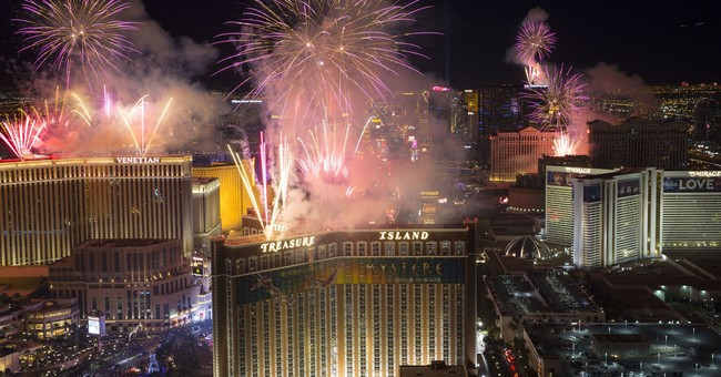Las Vegas rings in 2018 under unprecedented security