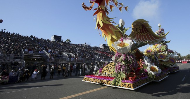 Latest: Hearty souls brave overnight cold for Rose Parade