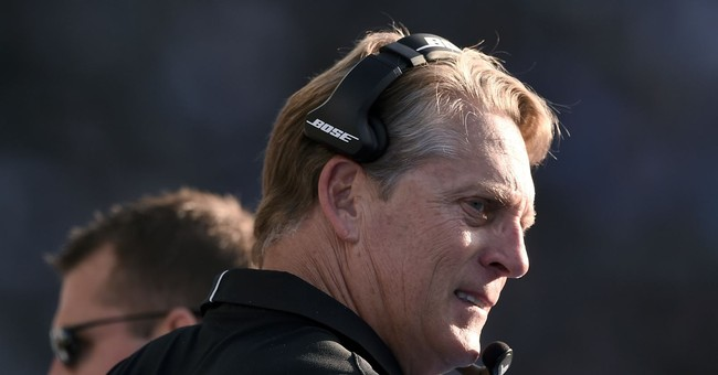 It was a cold Week 17 in the NFL _ as Del Rio can attest