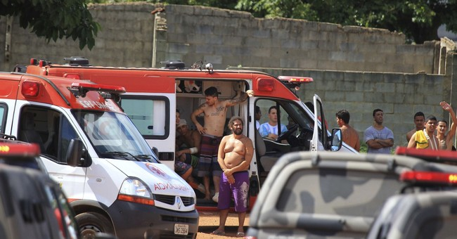 99 inmates at large after prison riot in Brazil
