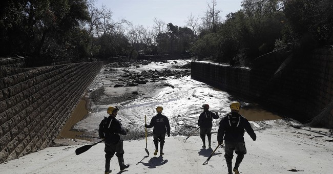17 dead in California mudslides, more than a dozen missing