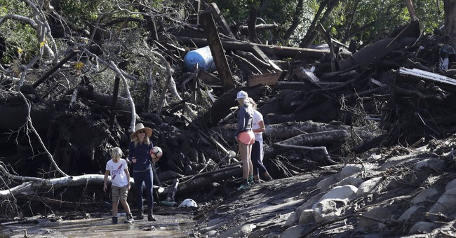Montecito residents who dodged fire struggle following storm