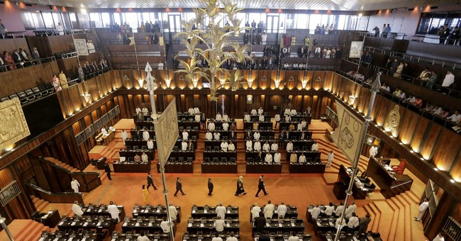 Sri Lankan lawmakers exchange blows over corruption claims