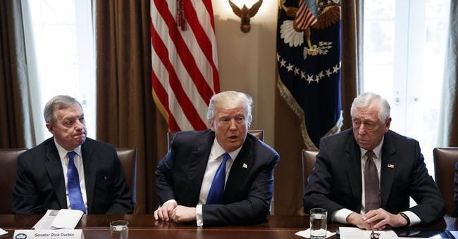 Trump, Key Lawmakers Negotiating Immigration Policies