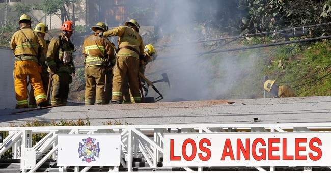 Police: Suspect argued with men before fatal LA studio fire