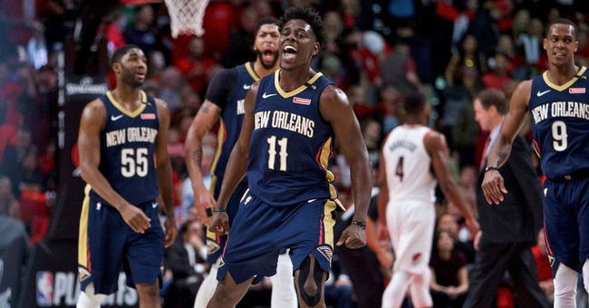 Holiday, Pelicans have Portland on the brink in NBA playoffs