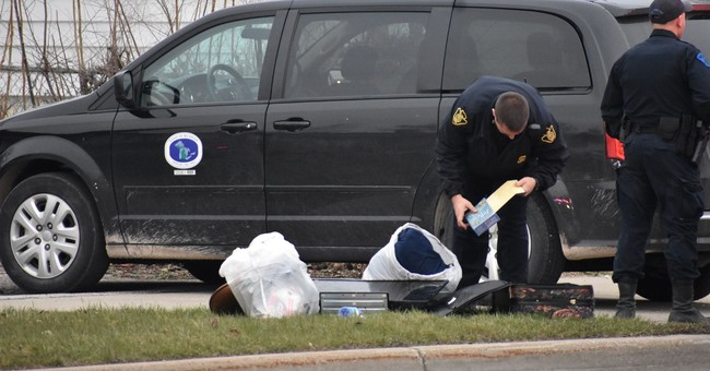 Michigan mother leaves 2 infant girls in suitcase on curb
