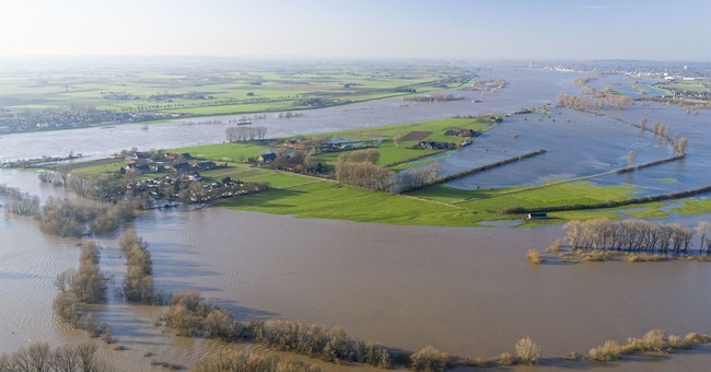 Study: Warming puts millions more at risk from river floods