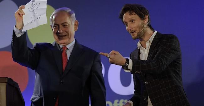Israeli leader Netanyahu stumps acclaimed mentalist