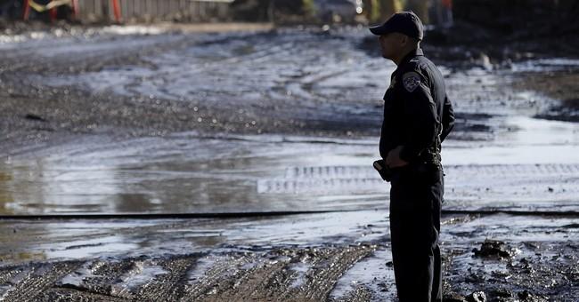 Wild swings occur in numbers of California mudslide missing