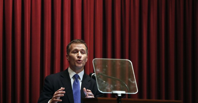 The Latest: Lawyers say woman 'betrayed' over Greitens audio