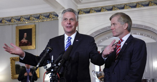 Virginia Gov. Terry McAuliffe reinvents image as state CEO