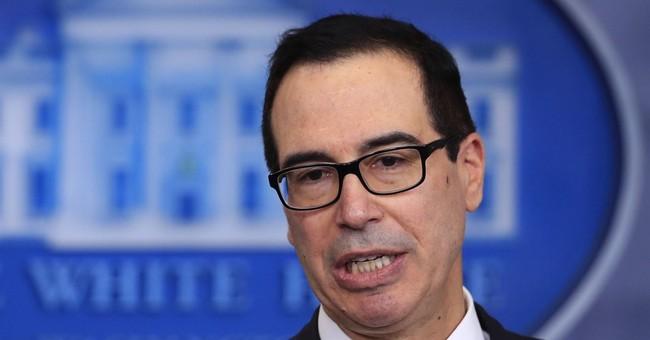 Treasury secretary defends Trump's trip to Davos