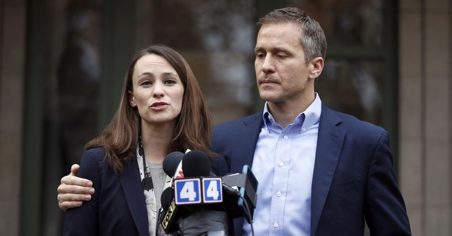 The Latest: Lawyer: Politics driving Greitens affair reports