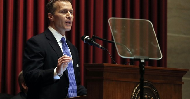 Missouri governor facing allegations had fast political rise