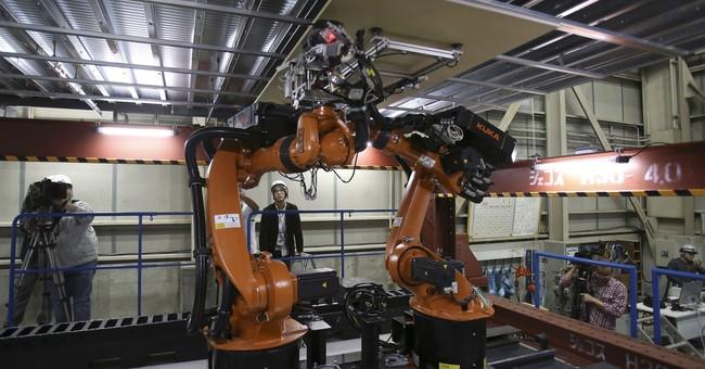 Construction robots weld, bolt, lift to beat worker shortage