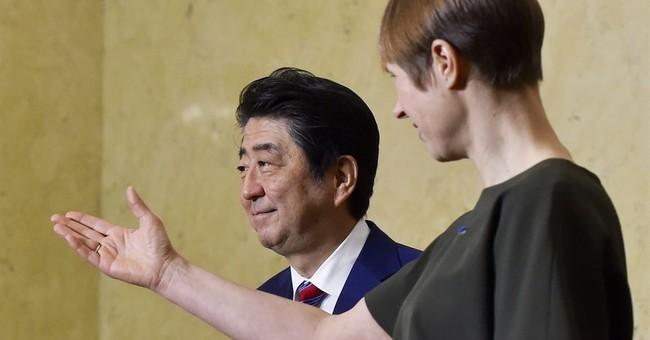 Japanese PM kicks off six-nation European tour in Estonia