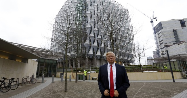 Trump: No trip to London since embassy site is a 'bad deal'