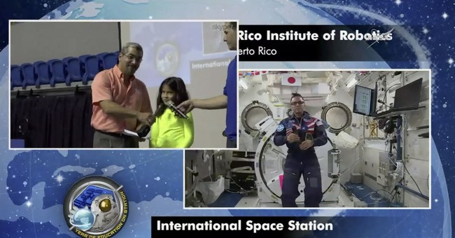 Puerto Rican astronaut reaches out to island's schoolkids