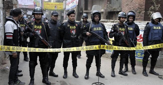 3 suspected militants killed in Bangladesh; 2 forces hurt