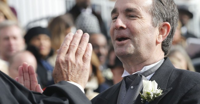 Northam sworn in as governor, pledges less toxic politics