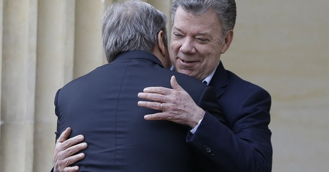 UN Secretary General pushes for peace in visit to Colombia