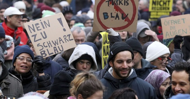 Thousands protest Austria's new right-wing government