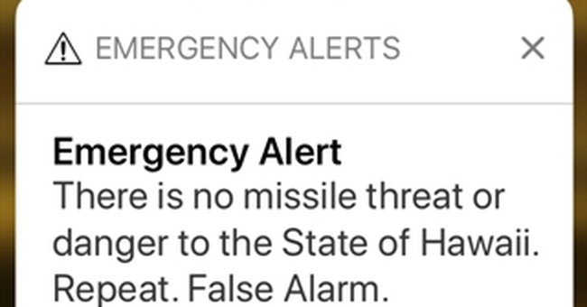 The Latest: Man suffered heart attack after missile alert