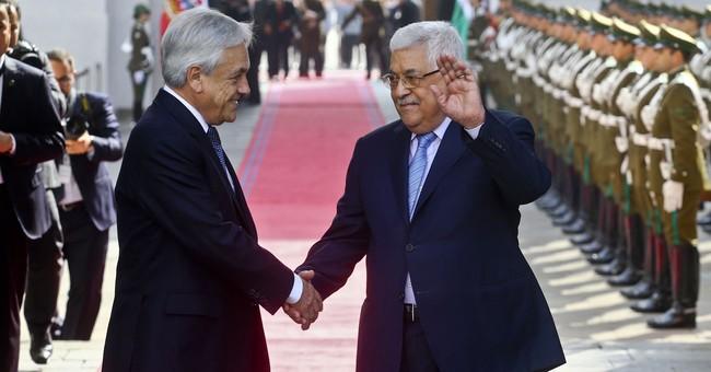 Palestinian president in hospital for minor ear procedure