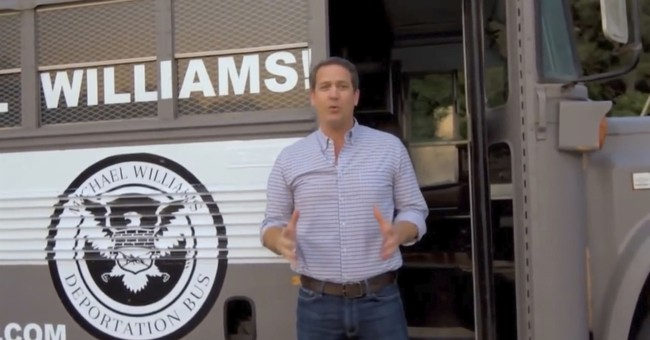 """""""Deportation Bus"""" ad removed from YouTube as 'hate speech'"""