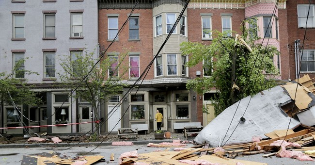 Cleanup underway a day after powerful storms pound Northeast