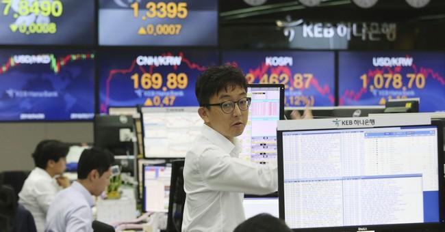 European stocks higher as Brent crude breaches $80 a barrel