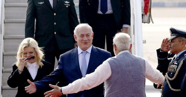 Israeli Prime Minister Netanyahu in India to deepen links