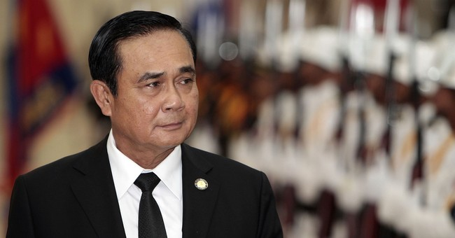 Thai junta boss eyes staying on with little stopping him