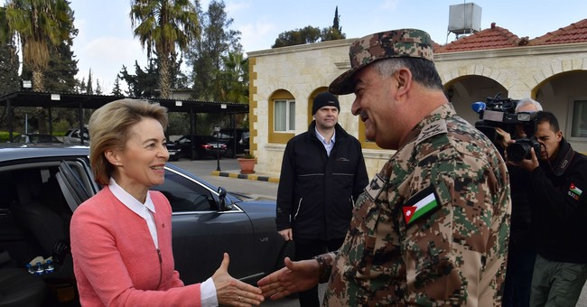Jordan gets German military vehicles for border control