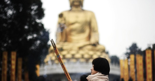 China orders crackdown on large outdoor religious statues