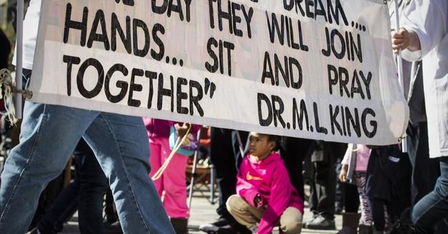 King children criticize Trump, decry racism on MLK holiday
