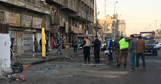 The Latest: Iraq raises death toll in Baghdad attack to 38