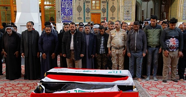 Twin bombings in Baghdad kill 38, shatter post-IS calm
