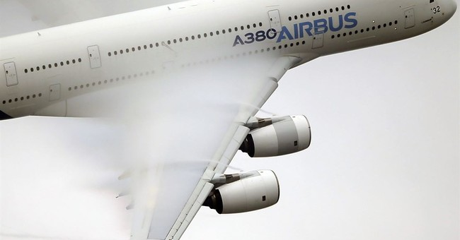 The Latest: Airbus says it outsold Boeing in 2017