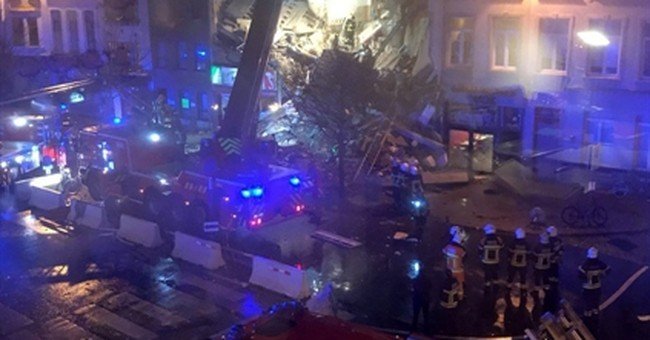 Belgium: Explosion collapses building, injures up to 20