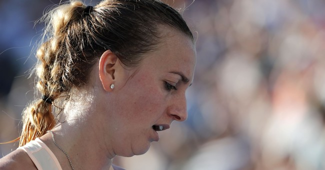 Recovering Kvitova feels the love from Australian Open fans