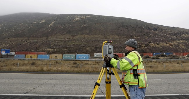 Washington state town wary of slow-moving landslide