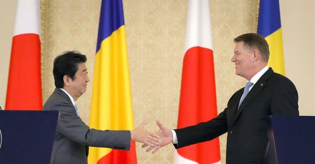 Romanians apologize to Japan's prime minister over visit
